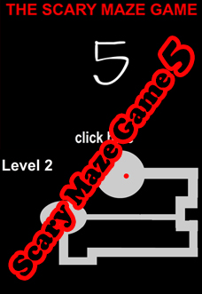 play all versions of scary maze game at scarymazegamehub com